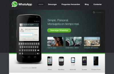Desarrollo Web. Whatsapp. Calle Mayor Comunicación y Publicidad