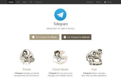Telegram, una alternativa de mensajería instantánea a Whatsapp