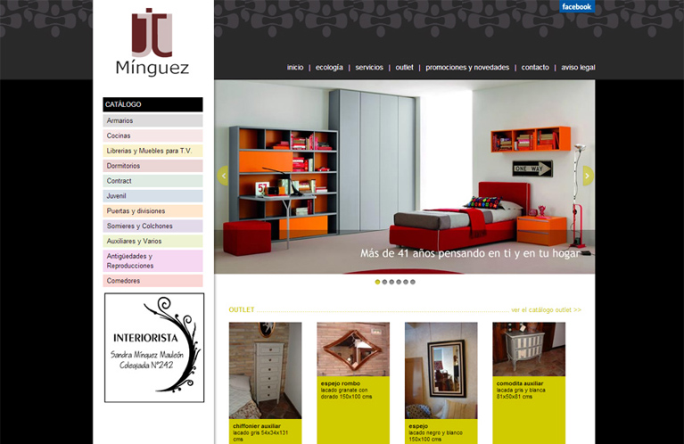 Muebles m nguez calle mayor for Web muebles online