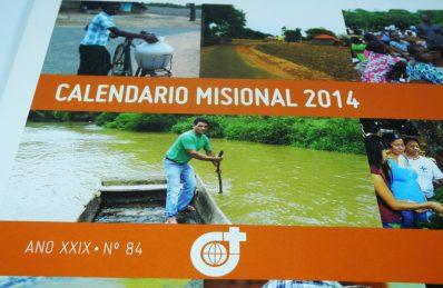 Calle Mayor elabora el Calendario Misional 2014 para los Misioneros del Verbo Divino