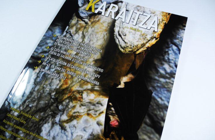 Calle Mayor elabora un nuevo número de la revista Karaitza, para la Unión de Espeleólogos Vascos