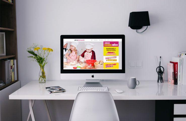 Alma Formación. Desarrollo Web. Calle Mayor Comunicación y Publicidad