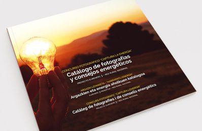Realización de concurso online y catálogo con los premiados para TEDER
