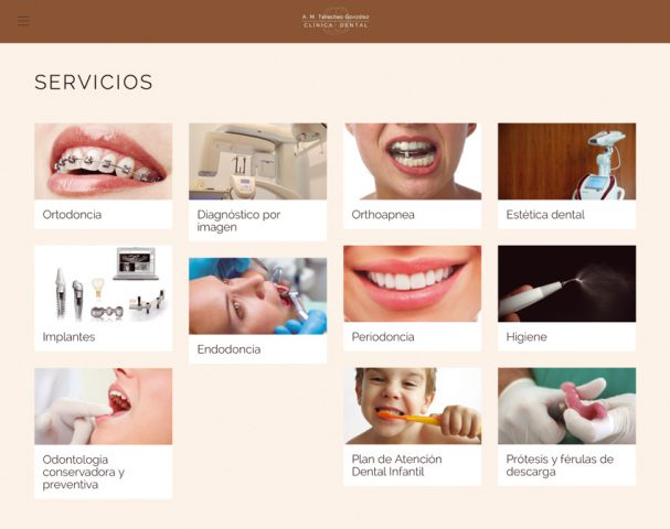 Desarrollo web para Clínica Dental Tellechea, dentista en Estella