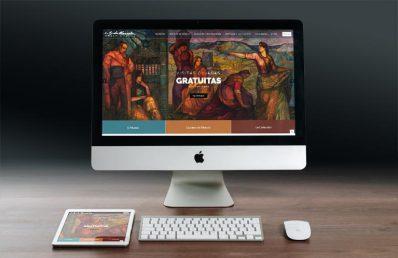 Web corporativa Museo Gustavo de Maeztu. Calle Mayor Comunicación y Publicidad