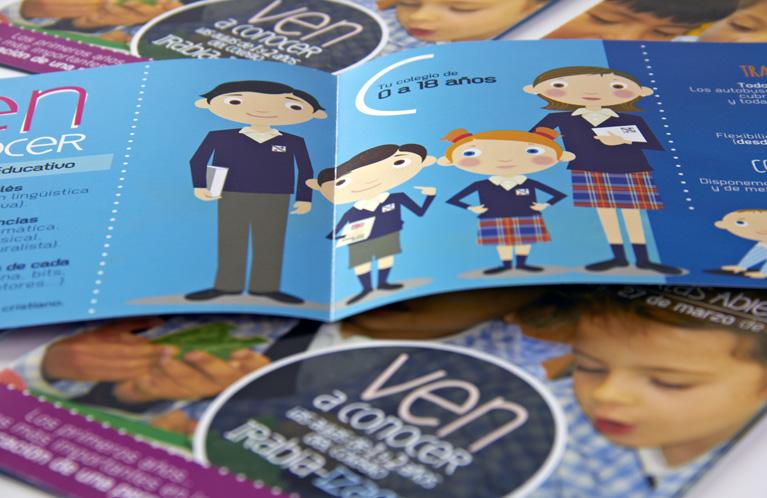 colegio-irabia-izaga-folleto-conoce-el-centro-calle-mayor-comunicacion-y-publicidad