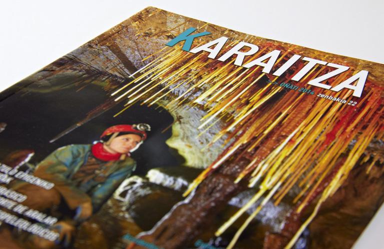 union-de-espeleologos-vascos-revista-karaitza-calle-mayor-comunicacion-y-publicidad