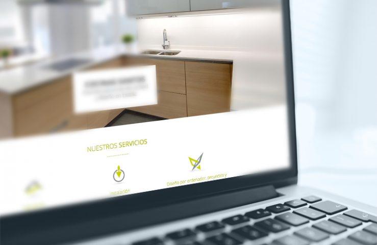 Página Web Cerámicas Egurza. Desarrollo web Calle Mayor Comunicación y publicidad