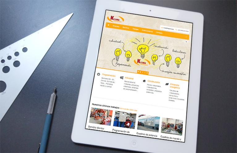 electricidad-kesma-desarrollo-web-calle-mayor-comunicacion-y-publicidad