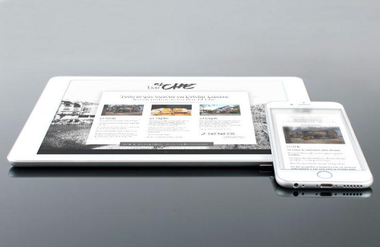 Diseño y desarrollo web corporativa para Bar el Che de Estella. Calle Mayor Comunicación y Publicidad.