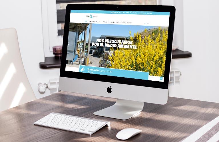 Desarrollo página web Mancomunidad de Montejurra. Calle Mayor Comunicación y publicidad