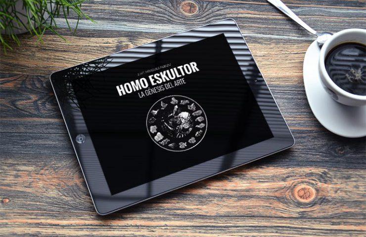 Homo Eskultor. La génesis del arte. Desarrollo web - Calle Mayor Comunicación y Publicidad