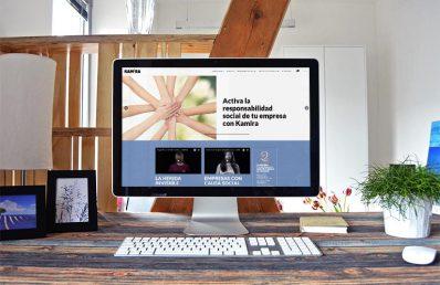 Kamira Coop - Cooperativa de Iniciativa Social. Desarrollo web Calle Mayor Comunicación y publicidad