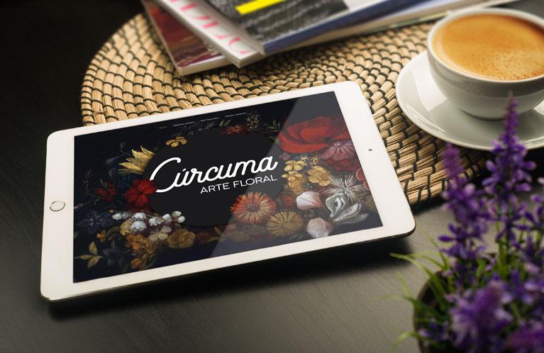 Floristería Cúrcuma. Arte floral Estella. Desarrollo web. Calle Mayor Comunicación y Publicidad.
