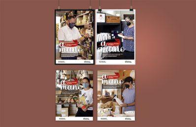 Campaña A mano, comercio y artesanía. Gobierno de La Rioja