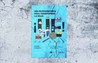 Campaña Fondos Europeos. Gobierno de La Rioja